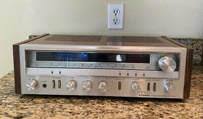 Vintage Pioneer SX-3500 AM/FM Stereo Receiver  tested