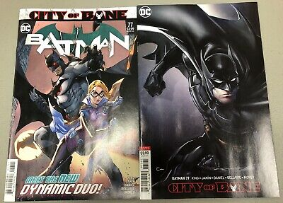 Dc  Batman #77 (2019) Cover A & Variant Set Of 2 Books First Print Nm