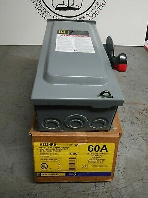 H222Nrb Square D Safety Switch Interrupter
