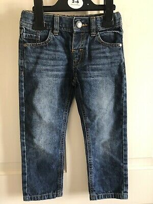 BNWOT Marks And Spencers Denim Jeans. Loose Fitting. Boys. Age 2 - 4 Years
