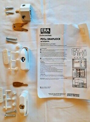 ERA Snaplock Window Locks x 3