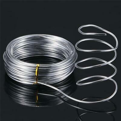 10/20m Aluminum Wire Jewelery Making DIY Craft Wrap Bendable Cord 1/1.5/2mm