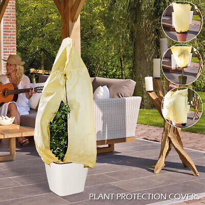 Plant Protection Covers Shrubs Frost Protection Fleece Jacket Bags Protectors IE