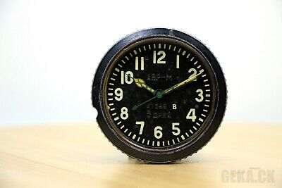 NOT WORKING AVRM Clock for the Soviet tanks MADE in USSR AChS, B type, Aircraft