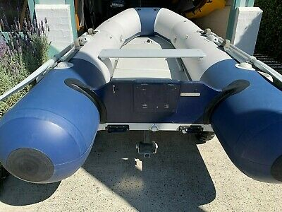 Zodiac Inflatable dinghy and mercury outboard