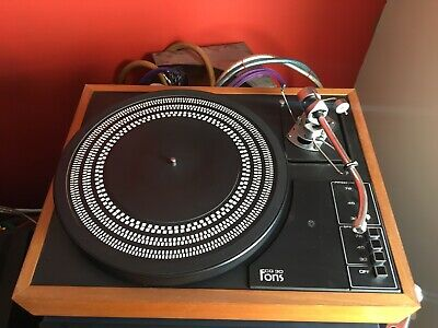 SME 3009 FONS Turntable Made In Scotland