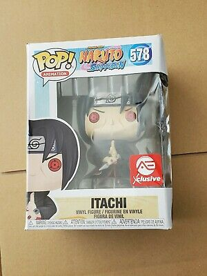 Damaged Funko Pop! Naruto ITACHI Uchiha AEC Exclusive  short print sold out