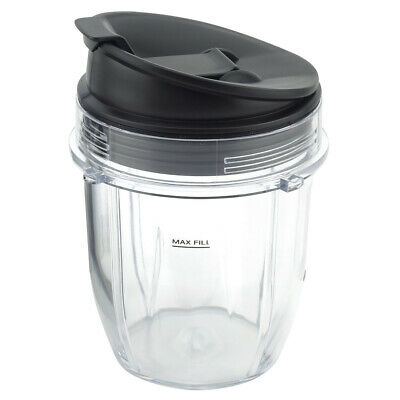 12 oz Cup with Sip & Seal Lid Replacement Parts for Nutri Ninja Auto-iQ Blenders