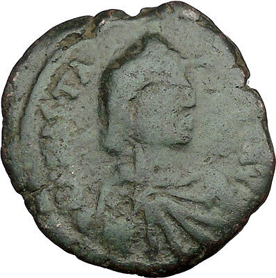 Anastasius I 491AD Large  Ancient Authentic  Medieval Byzantine Coin i37377