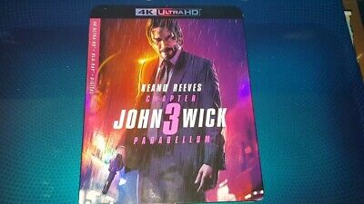 John Wick: Chapter 3 Parabellum 4K UHD Blu-ray Digital Copy Brand New