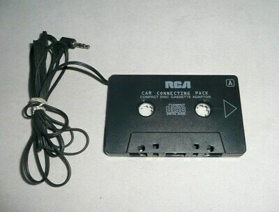 RCA Car Connecting Pack  CD Cassette Tape Adapter working