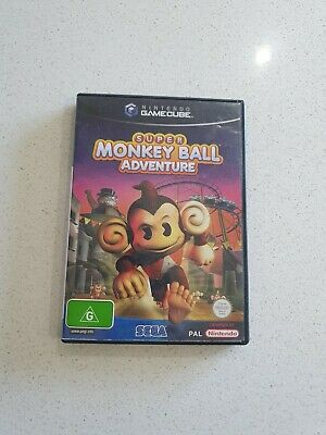 Super monkey ball adventure complete Nintendo Gamecube ⭐OZ SELLER GET IT FAST