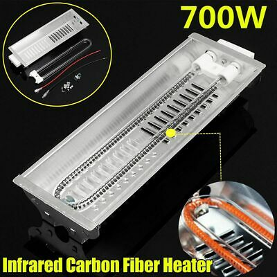 Double Carbon Fiber Heater Radiant Wave Paint Curing Heating Lamp For Baking
