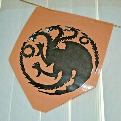 Game of Thrones House Sigil Targaryen Lannister Stark Tournament Banner Set of 7