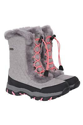 Mountain Warehouse Girls Isotherm Ohio Youth Waterproof Lightweight Snow Boots