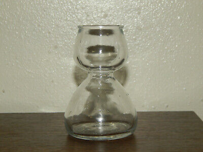 Quaffer Italy Double Bubble Layered Shot Glass Glass Clear 1.25oz.
