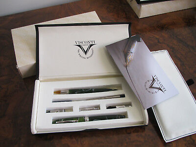 Visconti Art of Writing Variegated Green Set