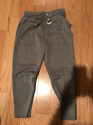 Details about Men's adidas Z.N.E. Tapered Pants Green D74655
