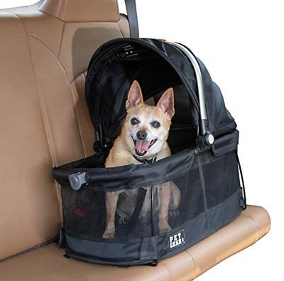 Pet Gear View 360 Pet Carrier & Car Seat for Small Dogs & Cats with Mesh for