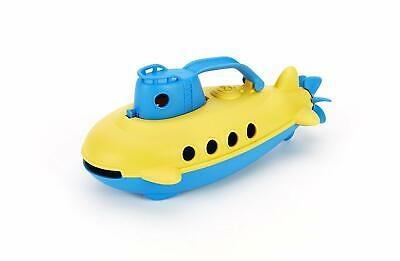 Green Toys - Submarine Bath Float Scoop Pour Water Toy (Blue / Yellow)