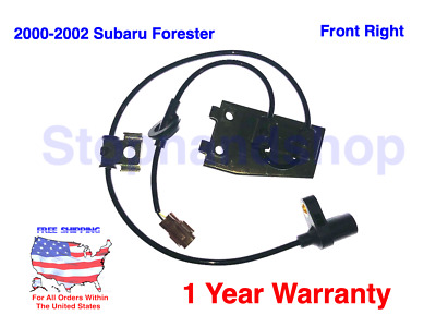 ABS Wheel Speed Sensor Rear Right Holstein 2ABS3373 fits 1998 Subaru Forester