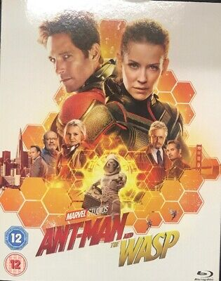 Antman And The Wasp Marvel Bluray New & Factory Sealed