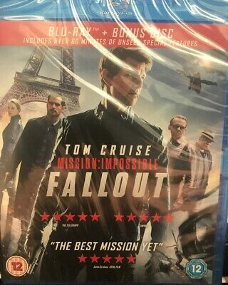 Mission Impossible Fallout - Blu-Ray - New / Sealed - Fast Dispatch