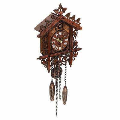 Cuckoo Europea Clock House Wall Clock Large Modern Art Vintage Decor Home New UK