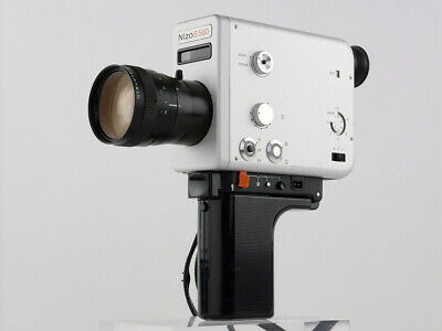 Braun Nizo S 560 film cine MOVIE camera Super 8 mm VARIABLE SHUTTER Time Lapse