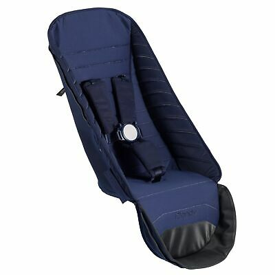iCandy Peach Pushchair Stroller Buggy 2nd Seat Fabric Set Indigo