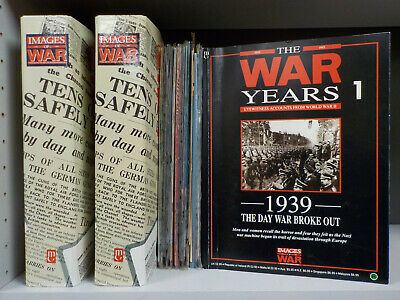 Images Of War Magazine - Issues 1-50 with 2 Binders (ID:5898)