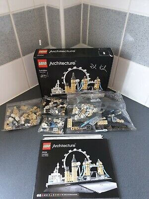 ** New ** LEGO 21034 ARCHITECTURE LONDON SKYLINE Signed by Rok  Kobe PLEASE READ
