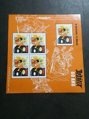 ASTERIX FRANCE 2019, BLOC TIMBRE 60 ANS, neuf**, MNH STAMP