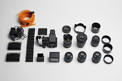 Phase ONE XF iQ3 100mpx Back and 6 Schneider Lenses / Blue Ring Complete Kit