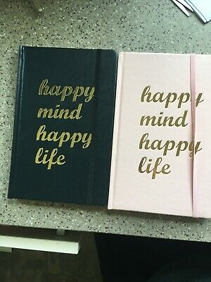 2019 2020 A5 Week To View Academic Student Diary - Black Or Pink Designs