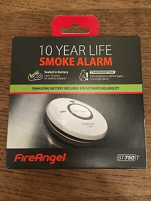 Smoke Alarm, Battery Powered - Fire Angel ST750T
