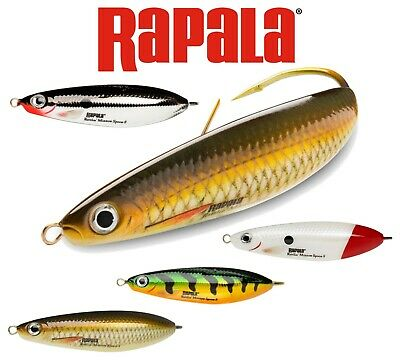 Rapala RMS-8 G Weedless Minnow Spoon CHR  80 mm 22 grs