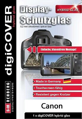 digiCOVER Display Schutzglas f. Canon EOS 70D