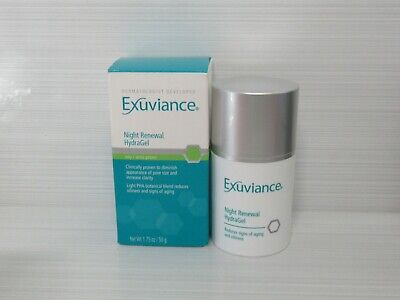 Exuviance Night Renewal Hydragel Oily/Acne Prone 1.75 Oz Boxed Authentic