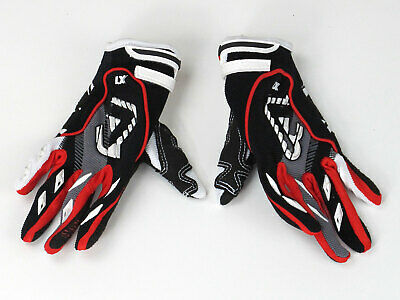 ABVERKAUF! ACERBIS MX KID GLOVES  RED/BLACK/WHITE/ANTHRAZITE Gr. L