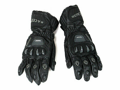 ABVERKAUF! RACER SPEED TOP  RACING GLOVES  BLACK Gr. S