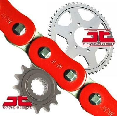AFAM / JT Red Upgrade Chain And Sprocket Kit Ducati 600 Monster 99-01