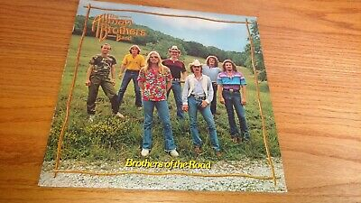 The Allman Brothers Band - Brothers Of The Road  Lp Vinyl Record Album Al954 Vg+