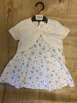 Mothercare Baby Girls Peter Rabbit 3 Piece Dress Set 9-12 Brand New With Tags 🐰