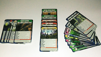 Games Master Videogame Battle Cards VERY RARE
