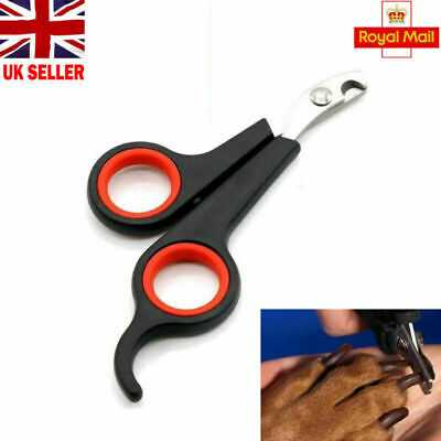 Pet Nail Clippers Claw Cutters DOG CAT RABBIT BIRD Animal Scissors Trimmer UK
