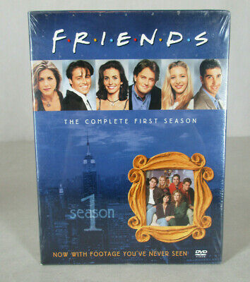 NEW Friends Season 1, The Complete First Season DVD 4 discs, 24 episodes SEALED