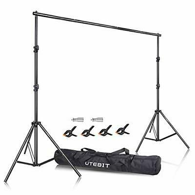 Backdrop Stand Adjustable  (2.6x3M/8.5x10ft Background Stand)