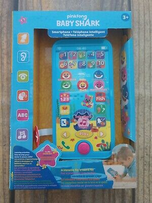 WowWee Pinkfong Baby Shark Smartphone Toy - Educational Preschool Toy