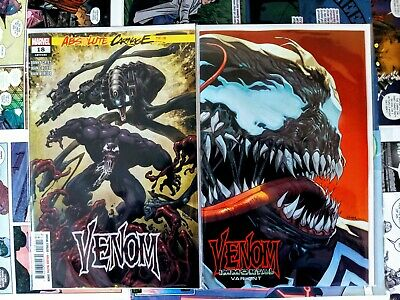 VENOM #18 Hotz  Main Cover A + Sliney Immortal Variant Set Marvel 2019 🔥 HOT 🔥